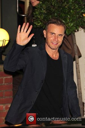 Gary Barlow is seen outside of X Factor studios after a live show London, England - 30.10.11