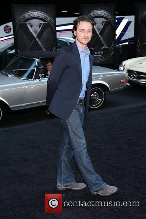 James McAvoy  at the New York premiere of 'X-Men: First Class' held at the Ziegfeld Theatre - Arrivals. New...