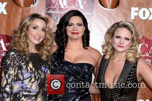 Pistol Annies Ashley Monroe, Angaleena Presley, Miranda Lambert   2011 American Country Awards - Arrivals at the MGM Grand...