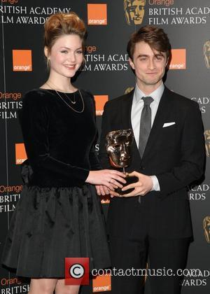 Holiday Grainger and Daniel Radcliffe Orange British Academy Film Awards (BAFTA) nominations announcement in 2012 London, England - 17.01.12