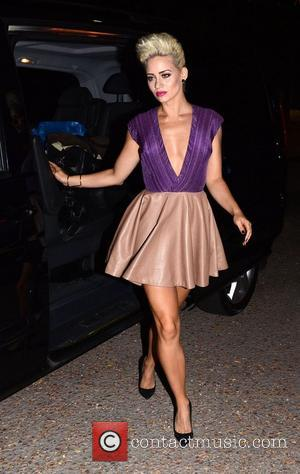 Kimberly Wyatt  Crazy Horse Premiere - after party arrivals at the Soho Sanctum Hotel London, England - 19.09.12