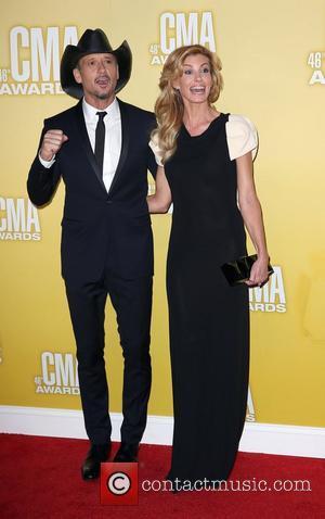 Faith Hill, Tim McGraw 46th Annual CMA Awards Inside Bridgestone Arena In Nashville Tennessee, USA - 01.11.12