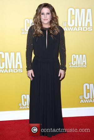 Lisa Marie Presley 46th Annual CMA Awards Inside Bridgestone Arena In Nashville Tennessee, USA - 01.11.12