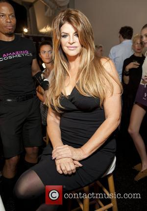 Kirstie Alley Mercedes-Benz New York Fashion Week Spring/Summer 2013 - Zang Toi - Backstage New York City, USA - 09.09.12