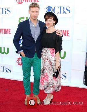 Barrett Foa and Renee Felice Smith CBS Showtime's CW Summer 2012 Press Tour at the Beverly Hilton Hotel - Arrivals...