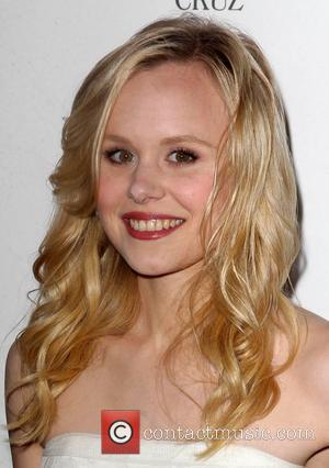 'Newsroom' Actress Alison Pill Enjoys Boozy Time At Fashion Week