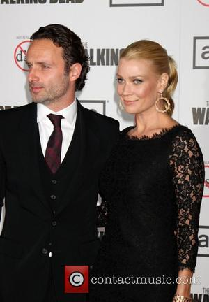 Andrew Lincoln and Laurie Holden Premiere Of AMC's