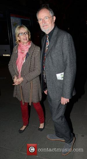 Jim Broadbent  What The Butler Saw after party departures at trhe Waldorf Hilton London, England - 16.05.12