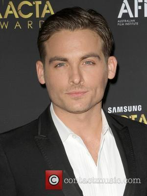 Kevin Zegers Signs Up For Charity Spinning Session