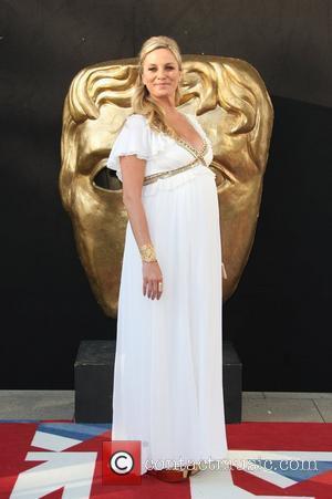 Noth Kisses Brit Tv Star At Awards