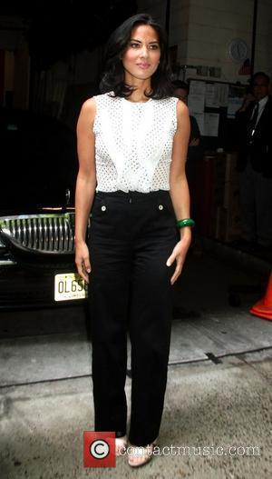 Olivia Munn outside ABC studios after her appearance on 'Live! with Kelly' New York City, USA - 26.07.12