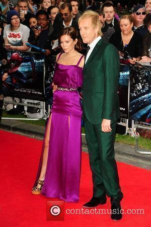 Rhys Ifans and Anna Friel at The Amazing Spider-Man Gala Premiere held at the Odeon, Leicester Square - Arrivals. London,...