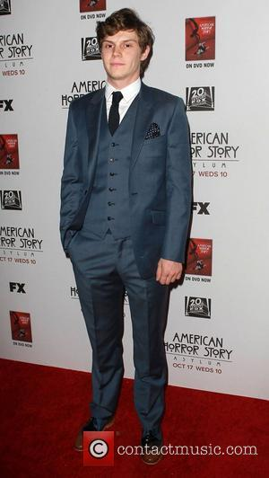 Evan Peters Flashed American Horror Story Stars