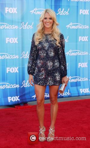 Carrie Underwood  'American Idol' Season 11 grand finale show held at Nokia Theatre L.A. Live - Arrivals Los Angeles,...