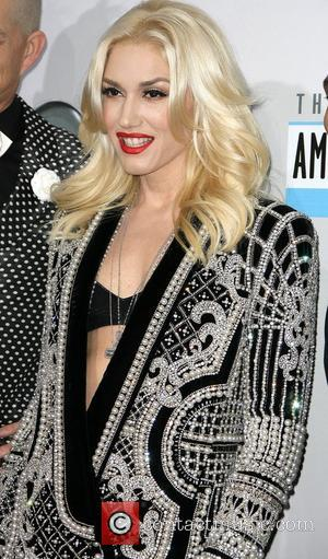 Gwen Stefani of No Doubt The 40th Anniversary American Music Awards 2012, held at Nokia Theatre L.A. Live - Arrivals...