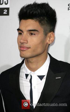Siva Kaneswaran of The Wanted The 40th Anniversary American Music Awards 2012, held at Nokia Theatre L.A. Live - Arrivals...