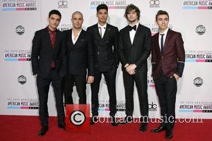 The Wanted and American Music Awards