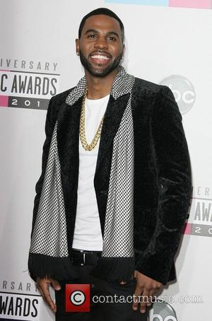Jason Derulo The 40th Anniversary American Music Awards 2012, held at Nokia Theatre L.A. Live - Arrivals Los Angeles, California...