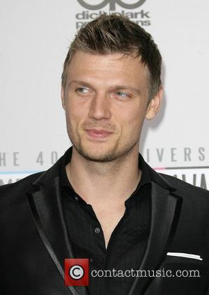 Nick Carter of Backstreet Boys The 40th Anniversary American Music Awards 2012, held at Nokia Theatre L.A. Live - Arrivals...