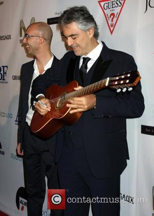Andrea Bocelli Is A Dad