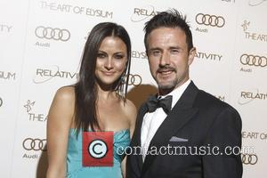 Christina McLarty, David Arquette 2012 Art of Elysium Heaven Gala at Union Station - Arrivals  Los Angeles, California -...