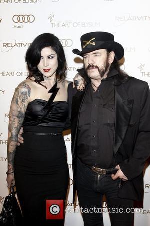 Kat Von D, Lemmy Kilmister  2012 Art of Elysium Heaven Gala at Union Station - Arrivals  Los Angeles,...