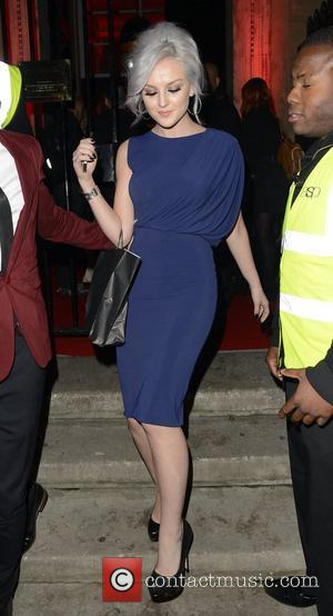 Perrie Edwards of Little Mix The Attitude Magazine Awards held at One Mayfair - Outside London, England - 17.10.12