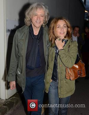 Bob Geldof and Jeanne Marine Celebrities attend the Aung San Suu Kyi afterparty at Harry Crosbie's house in Dublin's Docklands...