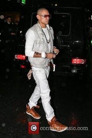 Taboo aka Jaime Luis Gomez of The Black Eyed Peas arrives at AV Nightclub in Hollywood Los Angeles, California -...