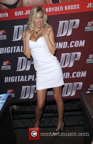 Bibi Jones Day one of the 2012 AVN Adult Entertainment Expo at the Hard Rock Hotel and Casino  Las...