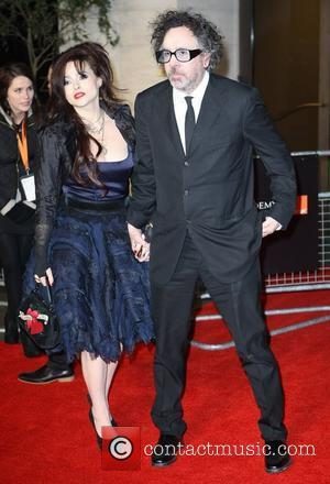 Tim Burton, Helena Bonham Carter and Bafta