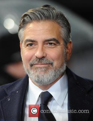 George Clooney The 2013 EE British Academy Film Awards (BAFTAs) held at the Royal Opera House - Arrivals  Featuring:...