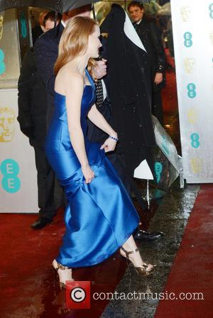 Jessica Chastain The 2013 EE British Academy Film Awards (BAFTAs) held at the Royal Opera House - Arrivals  Featuring:...