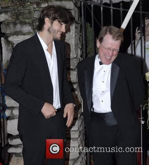 Ashton Kutcher and Corky Coryell 138th Kentucky Derby Barnstable-Brown Gala - Arrivals Louisville, Kentucky - 04.05.12