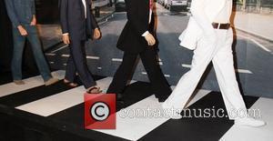 George Harrison, John Lennon, Ringo Starr and Sir Paul Mccartney
