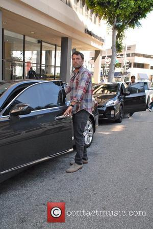 Ben Affleck  arrives at E Baldi in Beverly Hills to have lunch with his wife Jennifer Garner.  Los...