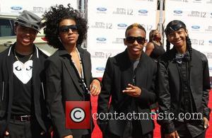 Mindless Behavior 2012 BET Awards at The Shrine Auditorium - Arrivals Los Angeles, California - 01.07.12