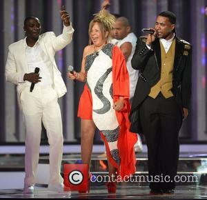 Akon, Loalwa Braz and Don Omar Billboard Latin Music Awards 2012 held at the Bank United Center - Show Miami,...