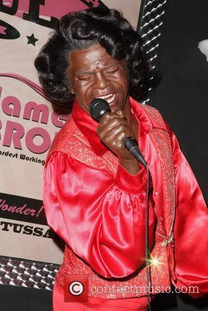 James Brown wax sculpture Madame Tussauds New York launches a special exhibit in celebration of Black History Month  New...