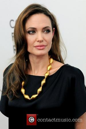 Angelina Jolie at the premiere of 'In the Land of Blood and Honey' at the School of Visual Arts -...