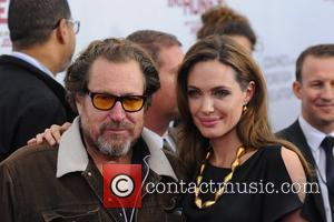 Julian Shnabel and Angelina Jolie Premiere of 'In the Land of Blood and Honey' at the School of Visual Arts...