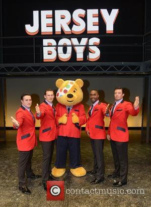 Anthony Costa, Lee Ryan, Pudsey, Bear, Simon Webbe and Duncan James