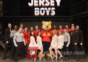 Anthony Costa, Lee Ryan, Simon Webbe, Duncan James, Blue, Pudsey, Bear and Jersey Boys