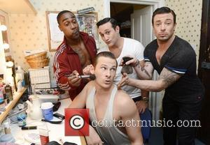 Simon Webbe, Anthony Costa, Lee Ryan and Duncan James