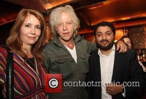 Sir Bob Geldof and former MTV presenter Kristiane Backer,  at the launch of Kristiane Backer's autobiography 'From MTV to...