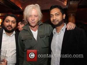 Sir Bob Geldof takes time off from arranging his daughter's wedding to help his freind and former MTV presenter Kristiane...