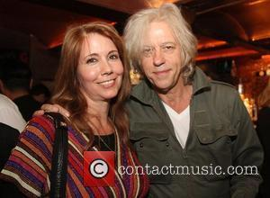Sir Bob Geldof with former MTV presenter Kristiane Backer,  at the launch of Kristiane Backer's autobiography 'From MTV to...
