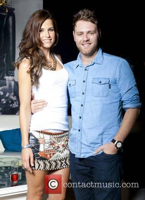 Brian Mcfadden's Wife Hid Face Injury On Wedding Day