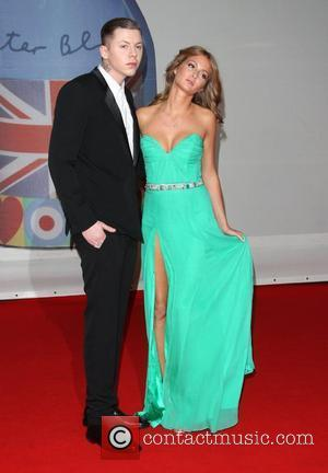 Professor Green and girlfriend Millie Mackintosh The Brit Awards 2012 held at The O2 - Arrivals  London, England -...