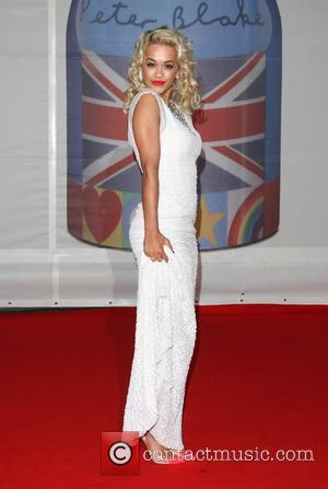 Rita Ora The Brit Awards 2012 held at The O2 - Arrivals  London, England - 21.02.12